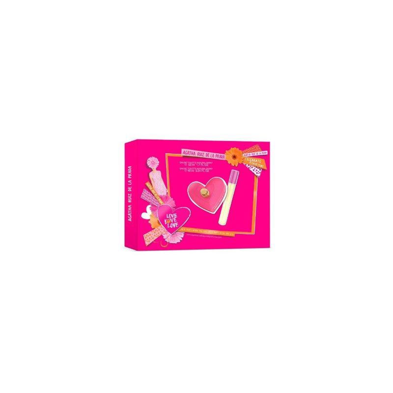 Agatha Love Love Love 50ml Set Mas 10 Ml