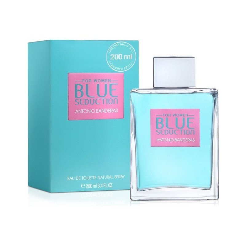 Blue Seduction 200Ml Dama