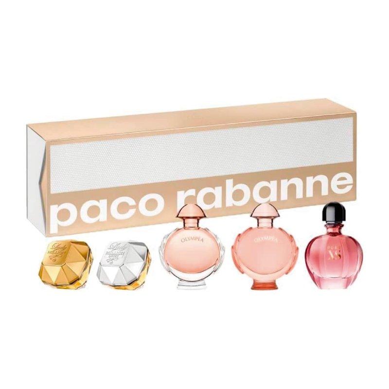Paco Rabanne Set Miniaturas 5 X 6Ml