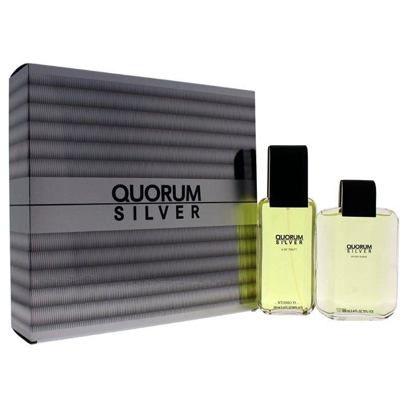 Quorum Silver 100ml Set Varon
