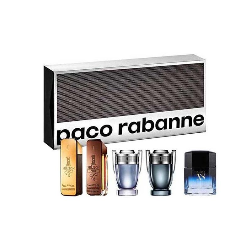 Paco Rabanne Set Miniaturas 5 X 5Ml Varon