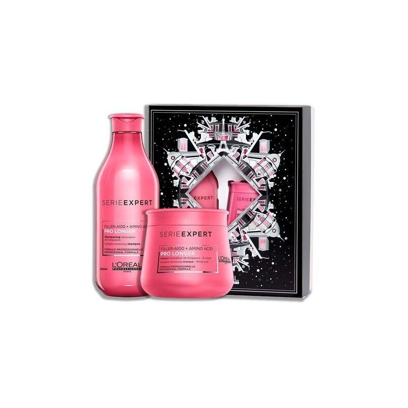 Pack Loreal Prolonger Shampoo 300Ml + Mascarilla 250Ml